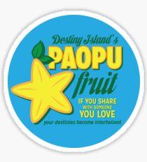 Paopu Fruit - Kingdom Hearts Sticker