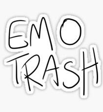 EMO TRASH Sticker