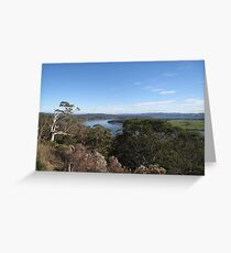 View from Brady's Lookout Greeting Card
