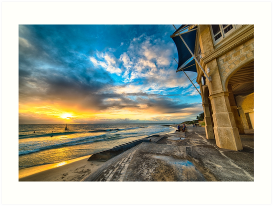 Sunset at Cottesloe by Alex Asbury