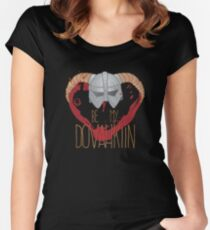 be my dovahkiin Women's Fitted Scoop T-Shirt