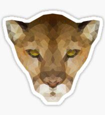 Puma concolor Sticker
