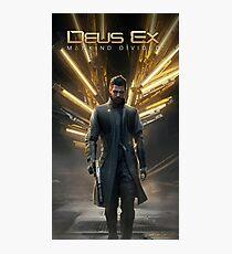 Deus Ex: Adam Jensen Icarus (Print) Photographic Print