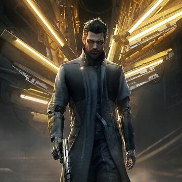 Deus Ex: Adam Jensen Icarus (Print) by AJensen0451