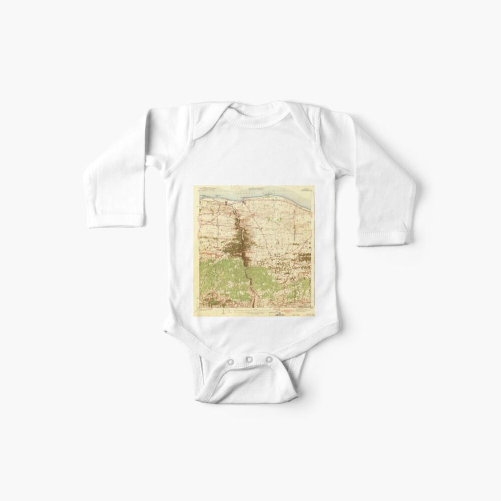 USGS TOPO Map Puerto Rico PR Camuy 362357 1942 30000 Body para bebé