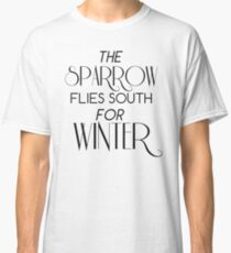 Skulduggery Pleasant: The Sparrow Flies South for Winter Classic T-Shirt