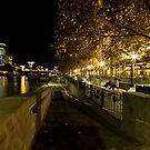 Leave no trace - Southbank Melbourne by Norman Repacholi
