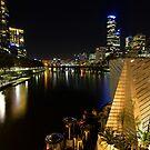 Last drinks - Melbourne Australia by Norman Repacholi
