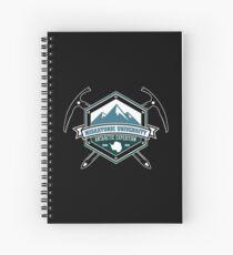 Miskatonic University Antarctic Expedition Spiral Notebook