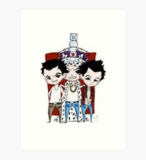 Faces of Moriarty Art Print