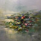 The Water lilies pond  by Ivana Pinaffo