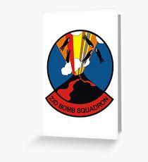 "23d Bomb Squadron ""Bomber Barons"" Greeting Card"