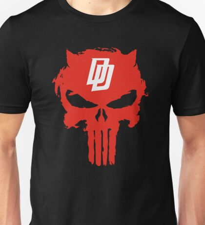 Daredevil The Punisher Symbol Unisex T-Shirt