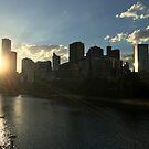 AU_Southbank sunset by kelliejane