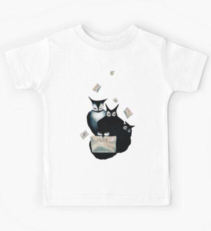 The Owl Postal Service Kids Tee