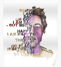 """""""Taschenlampe"""" Brian Sella Album Cover Grafik Poster"""