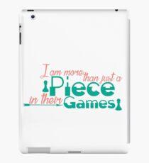 Piece In Their Games iPad Case/Skin