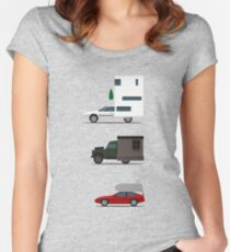 Motorhome challenge Fitted Scoop T-Shirt