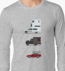 Défi camping-car T-shirt manches longues
