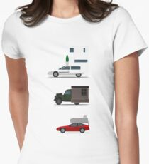 Motorhome challenge Womens Fitted T-Shirt
