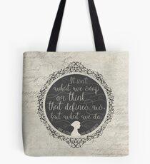 Sense and Sensibility Tote Bag