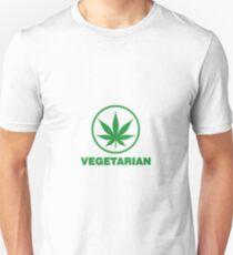 vegetarian marijuana Unisex T-Shirt