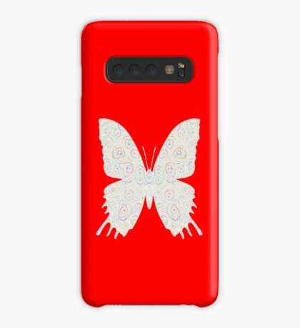 #DeepDream White Butterfly Case/Skin for Samsung Galaxy