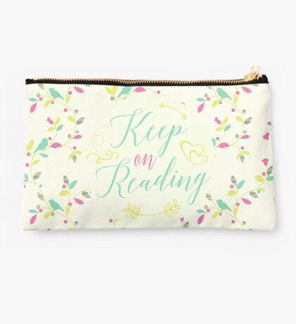 Keep on Reading Studio Pouch