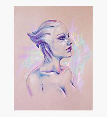 Liara T'soni - Mass Effect Photographic Print