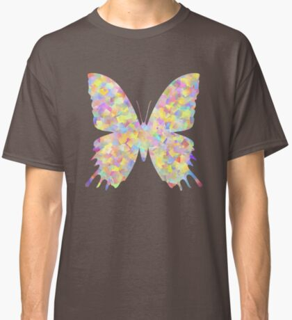Pastel Motley Butterfly Classic T-Shirt