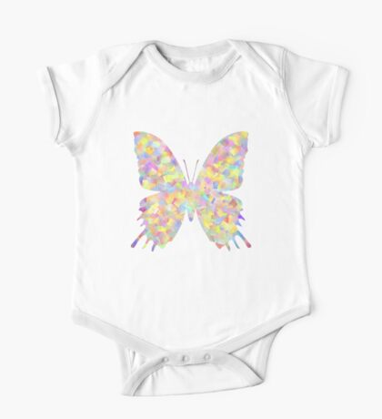 Pastel Motley Butterfly Kids Clothes