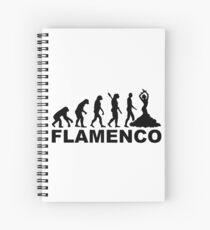 Evolution Flamenco Spiral Notebook