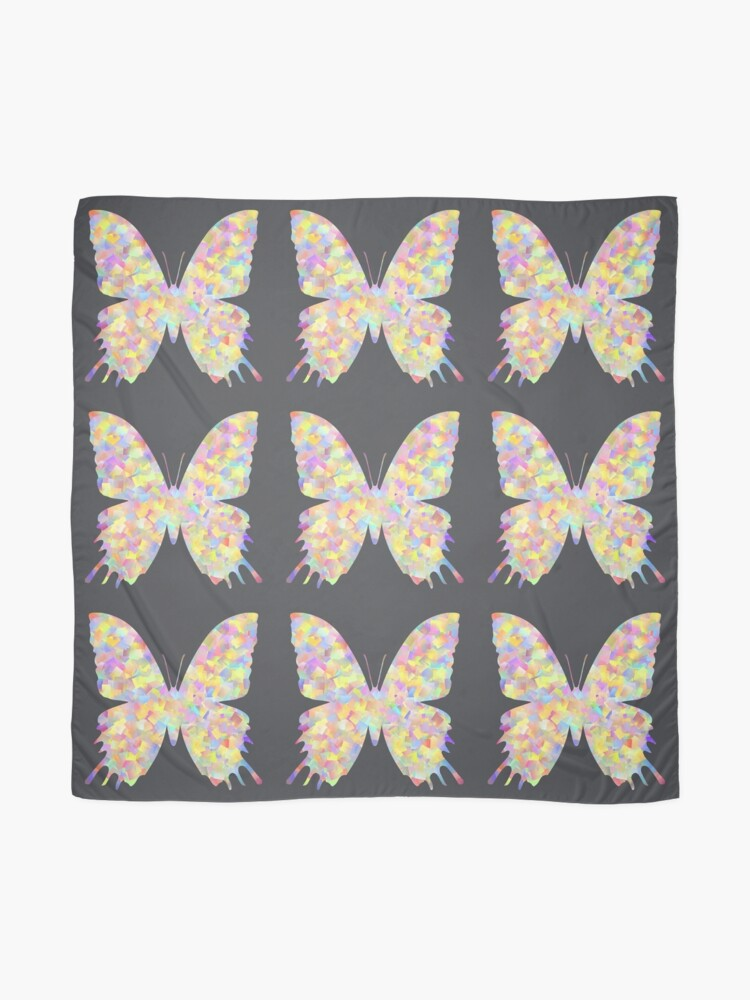 Alternate view of Pastel Motley Butterfly Scarf