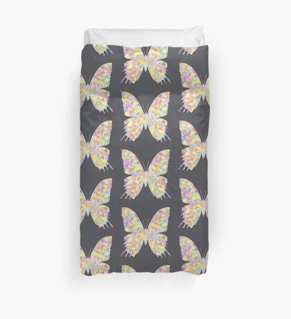 Pastel Motley Butterfly Duvet Cover