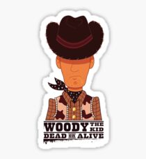 Woody the Kid Sticker