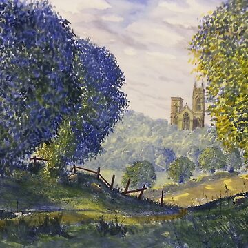 Bridlington Priory from Woldgate by GlennMarshall