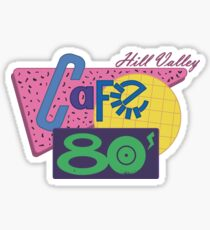 Cafe 80´s Sticker