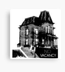 NO VACANCY Canvas Print