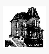 NO VACANCY Photographic Print