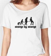 Stomp by Stomp Women's Relaxed Fit T-Shirt