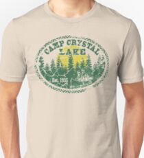 Camp Crystal Lake Retro Distressed Unisex T-Shirt