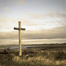 Island cross by Robert  Taylor