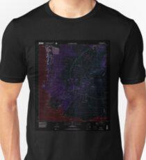 USGS TOPO Map Hawaii HI Makena 349561 1995 24000 Inverted Unisex T-Shirt