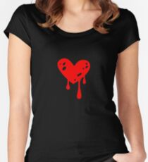Lord Dominator's heart Women's Fitted Scoop T-Shirt