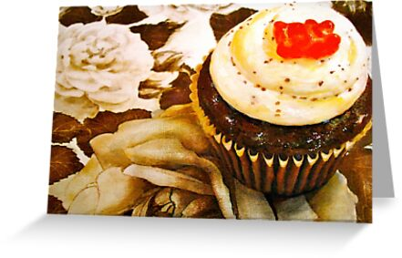 The Cupcake in Sepia by ©Janis Zroback