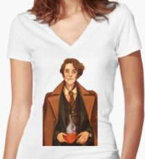 Remus Lupin Women's Fitted V-Neck T-Shirt