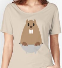 GROUNDHOG & SHADOW Women's Relaxed Fit T-Shirt