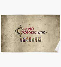 Chrono trigger - grunge background Poster