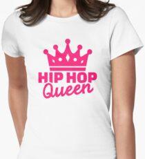 Hip hop queen Womens Fitted T-Shirt