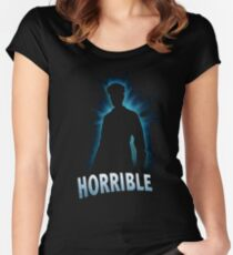 Horrible Shadow Women's Fitted Scoop T-Shirt